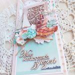 Kartka urodzinowa DL Suntastic 1 GOTOWA -