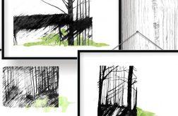 w lesie... tryptyk poetycki
