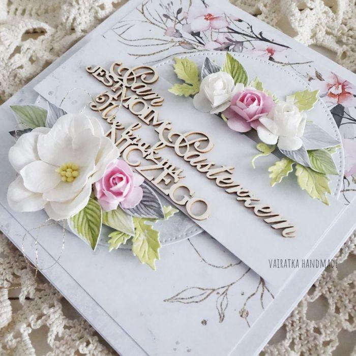 Pamiątka I Komunii Św., kartka w pudełku, 810 -