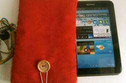 "czerwone etui tablet 7', galaxy tab2 7"""