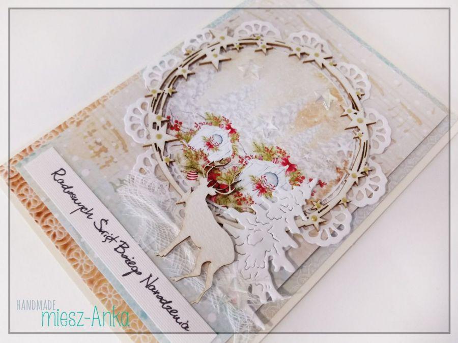 Wyjątkowa KARTKA ŚWIĄTECZNA - 64