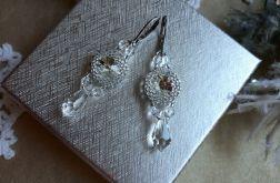 kolczyki z kryształkami i kryształem Swarovski