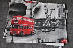6 podkładek pod talerze - Londyn