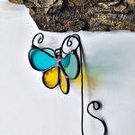 Zakładka do książki Motylek turkusowy 3D