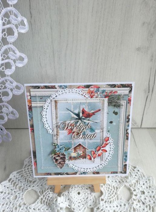 Kartka świąteczna Home For Christmas 4 GOTOWA
