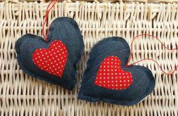 Serce jeansowe