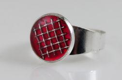 Kratka - pierścionek