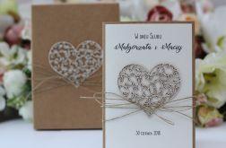 Rustic box ślub serca 8
