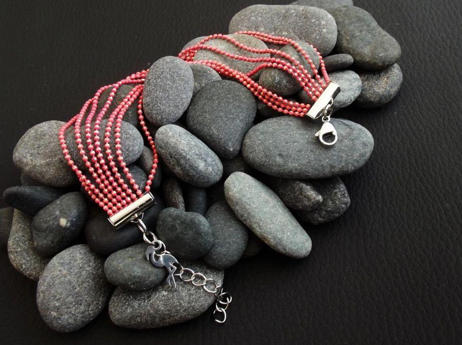 Solque 7 - bransoletka z łańcuszków