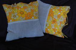 Bawełniano-lniane poszewki na poduszki