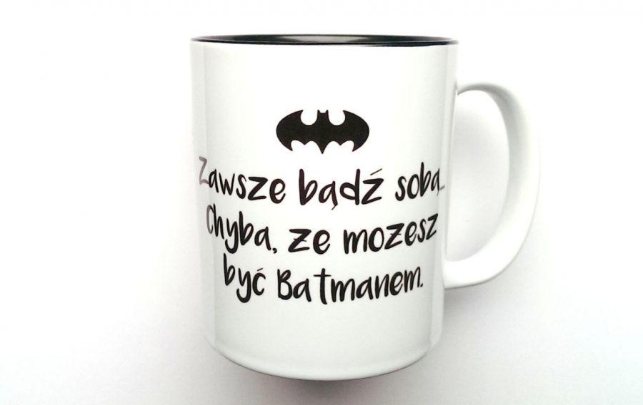 KUBEK BATMAN z CZARNYM WNĘTRZEM !