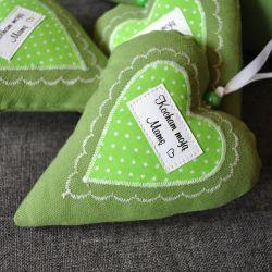 """Serduszko """"kocham moją mamę"""" - zielone"""