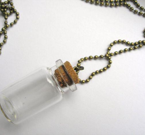 Buteleczka - naszyjnik