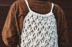 Plecak makrama handmade