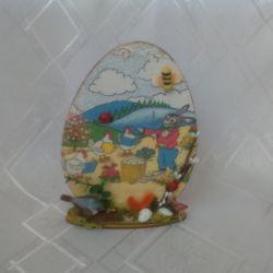 Ozdoba wielkanocna - stojące jajo