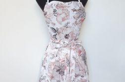Fartuszek kuchenny sukienkowy pastelowy