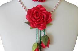Naturalne perły i róże