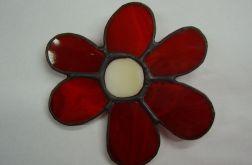 Kwiatek Broszka witrażowa Tiffany kwiatuszek