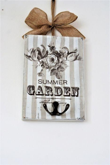 Wieszaczek na kluczyki, biżuterię  Garden
