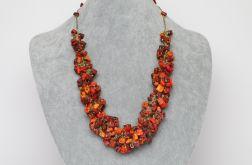 Naszyjnik w jesiennych kolorach