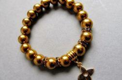 złote hematyty - bransoletka