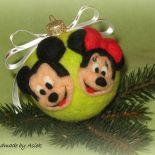 Bombka filcowa - Myszka Mickey