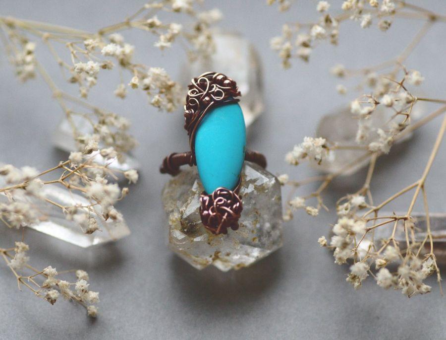 Arlette - błękitny pierścień