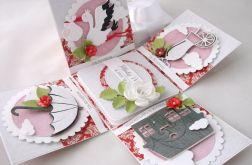Pudełko na ślub Czerwona słodkość