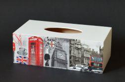Chustecznik-pudełko na chusteczki Londyn
