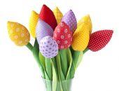KOLOROWE TULIPANY, pojedyncze kwiaty