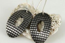 Kartka - metalowe kolczyki 120925-07