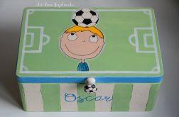 Kufer dla chłopca I LOVE FOOTBALL