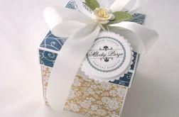 Pudełko na ślub Kawa z Granatem