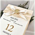 Winietki i zaproszenia - Zamówienie indywidualne dla Pani Moniki