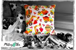 Bawełniana poduszka ~ maszyny budowlane