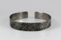 Kamień - metalowa bransoletka 201217-01