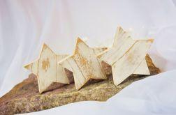 Świąteczne drewniane gwiazdki