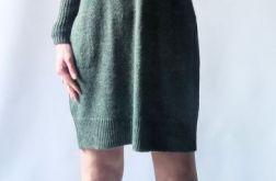 Sukienka oversize z kieszeniami 012