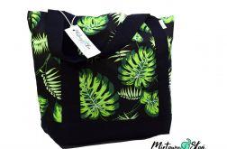 EKO Torba / Shopper ~ 100% bawełna ~ liście