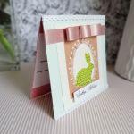 Kartka Wielkanocna z zajączkiem 1 - Wewnątrz życzenia