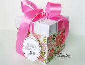 pudełko na ślub Kolorowe Kwiaty