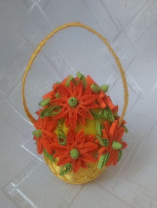 Jajko w koszyczku