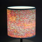 Lampa stojąca biurkowa nocna dWUFALE inter S - Wysokość abażuru - 15cm