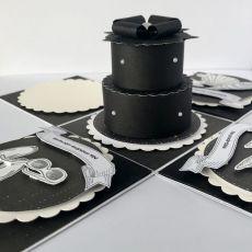 Urodzinowy Exploding Box czarny
