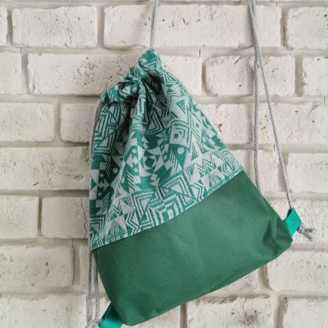 Green plecak