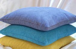poduszka z łuską gryki i lawendą -komplet
