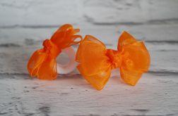 Gumka - frotka do włosów. Ola. Pomarańczowa.