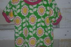 Kwiecista koszulka roz. 74