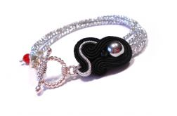 srebrna - mini bransoletka sutasz