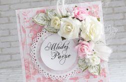 Ślubny komplet - w odcieniach różu